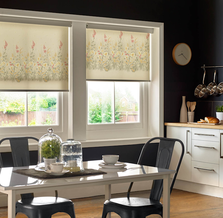 Roller Blinds with ULTRA control Appeal Home Shading ห้องครัวสิ่งทอและของใช้จิปาถะในครัว