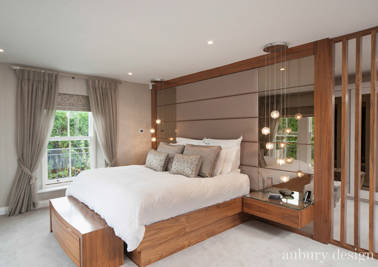 Contemporary Living Modern Bedroom by Aubury Design Modern