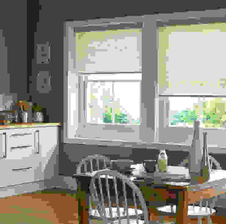 Kassala Emerald Roller Blind Modern kitchen by Appeal Home Shading Modern