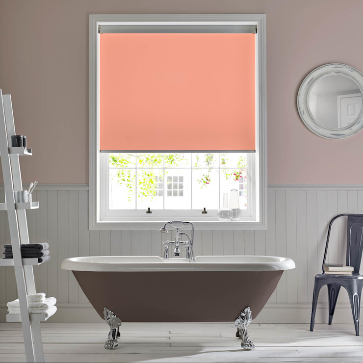 Palette Coral Roller Blind Modern style bathrooms by Appeal Home Shading Modern