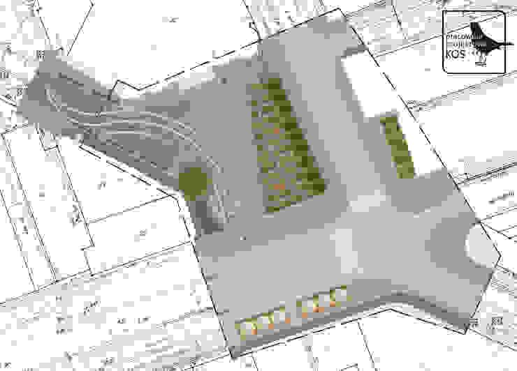 Koncepcja zagospodarowania przestrzeni publicznej w Warszawie od Pracownia projektowa KOS