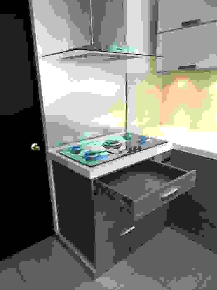 Contry Sur Cocinas modernas de Cocinas Grand Moderno Cuarzo
