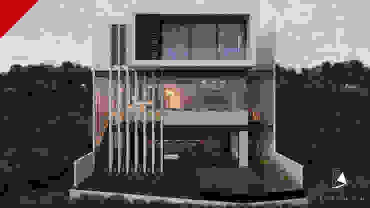 CASA BALCONES Casas modernas de Tectónico Moderno