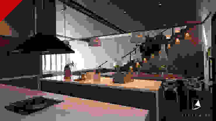CASA BALCONES Cocinas modernas de Tectónico Moderno