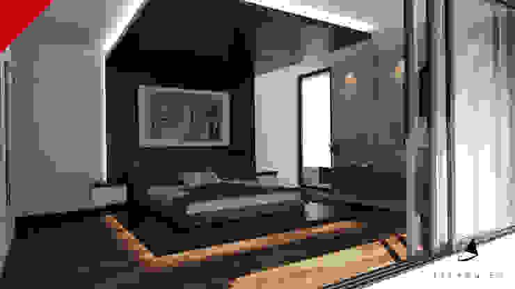 CASA BALCONES Dormitorios modernos de Tectónico Moderno