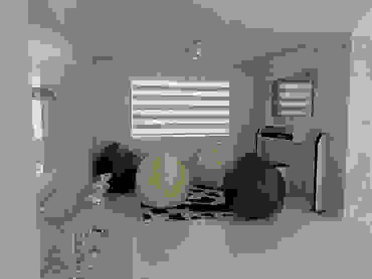 Diseño 3D de Salón Residencial Sixty9 3D Design Salas de estilo moderno