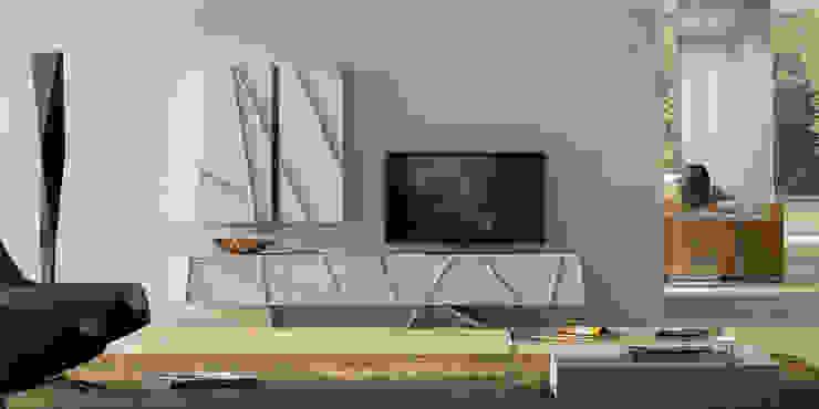 Intense mobiliário e interiores SalonesMuebles de televisión y dispositivos electrónicos