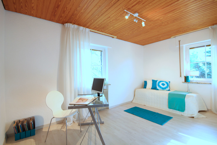 Birgit Hahn Home Staging Nursery/kid's room Turquoise