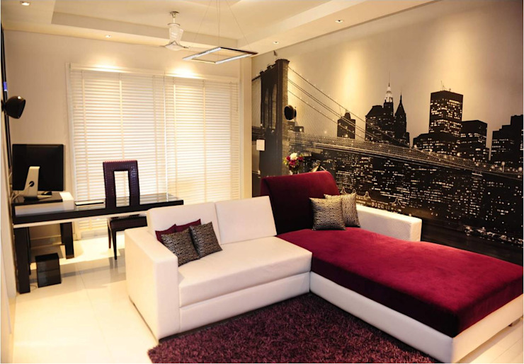 QBOID DESIGN HOUSE Livings de estilo moderno