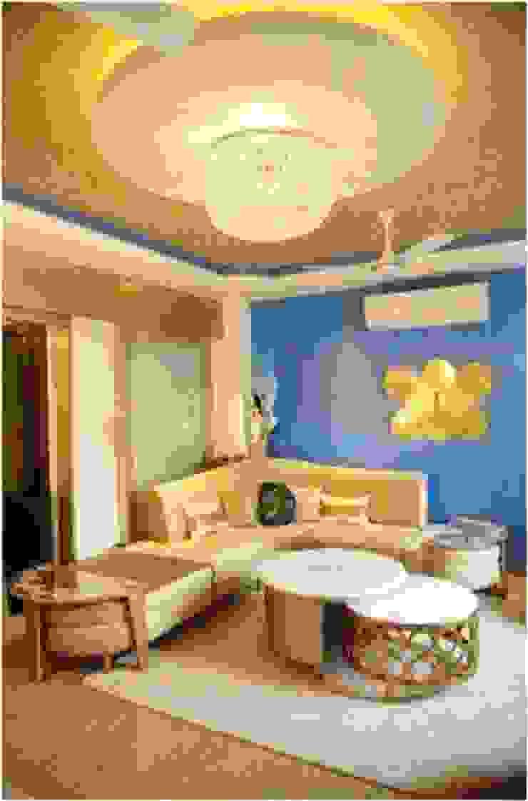 RESIDENTIAL Modern living room by QBOID DESIGN HOUSE Modern