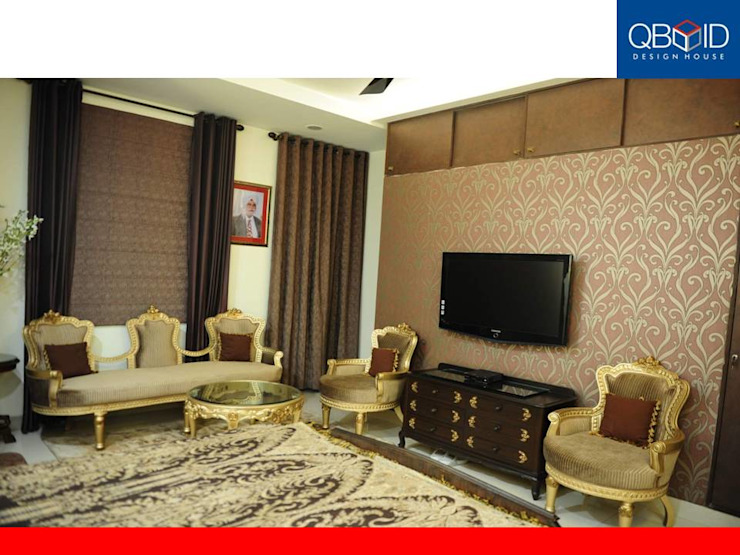 QBOID DESIGN HOUSE Modern style bedroom