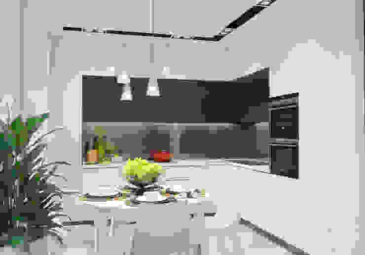 オリジナルデザインの キッチン の Студия авторского дизайна ASHE Home オリジナル