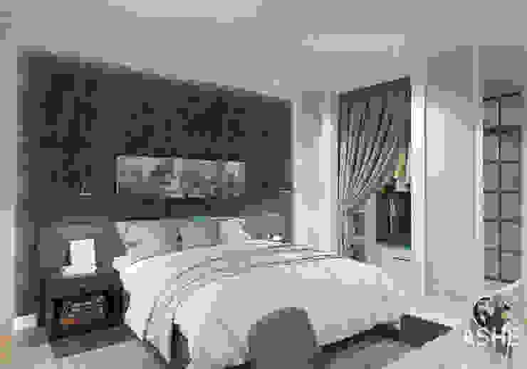 オリジナルスタイルの 寝室 の Студия авторского дизайна ASHE Home オリジナル