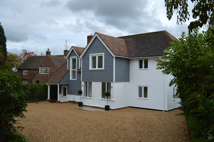 Redesigned Approach for a Rejuvenated 1950s Property in West Sussex ArchitectureLIVE