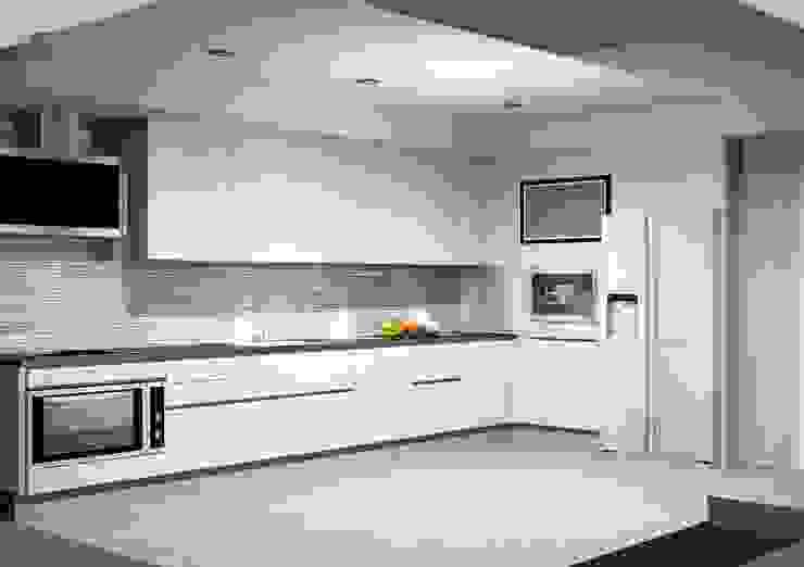 Cozinha por Amplitude - Mobiliário lda