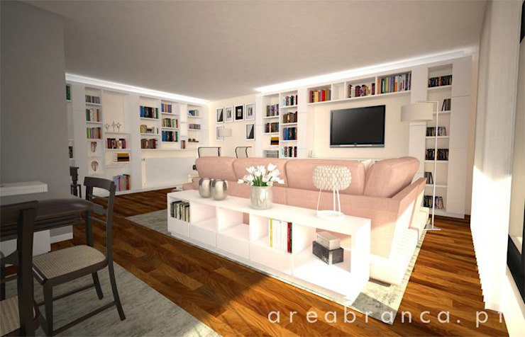 Modern living room by Areabranca Modern