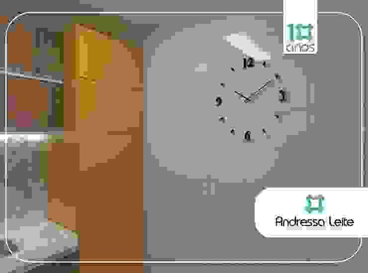 Área de serviço camuflada Cozinhas modernas por Andressa Leite Arquitetura e Iluminação Moderno Pedra