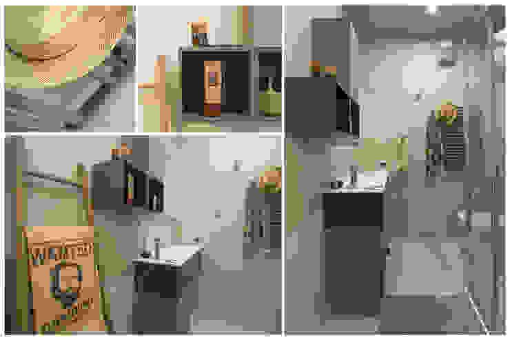 Baños de estilo minimalista de Rachele Biancalani Studio Minimalista Madera Acabado en madera