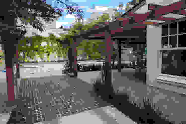 Cecyn Arquitetura + Design Gastronomie classique Béton Vert