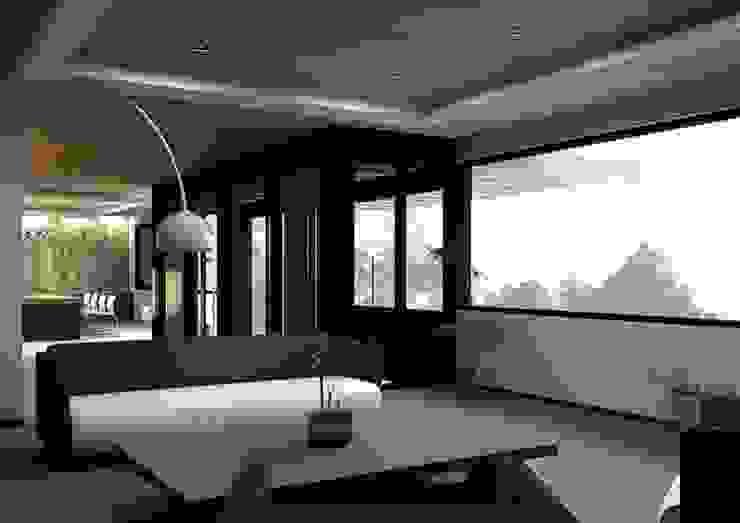 Modern Living Room by Arq. Rodrigo Culebro Sánchez Modern