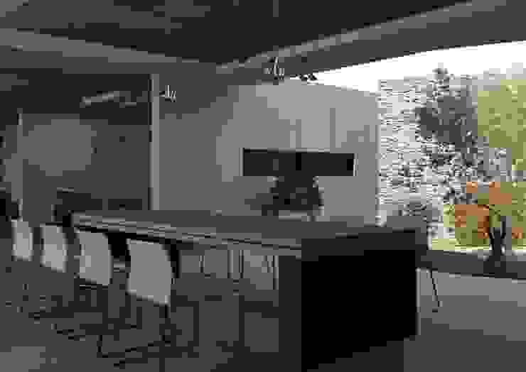 Modern Dining Room by Arq. Rodrigo Culebro Sánchez Modern