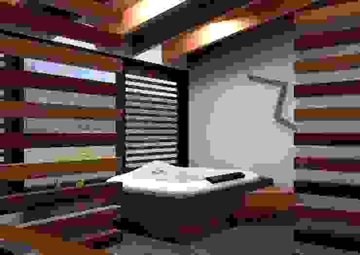 Modern bathroom by Arq. Rodrigo Culebro Sánchez Modern