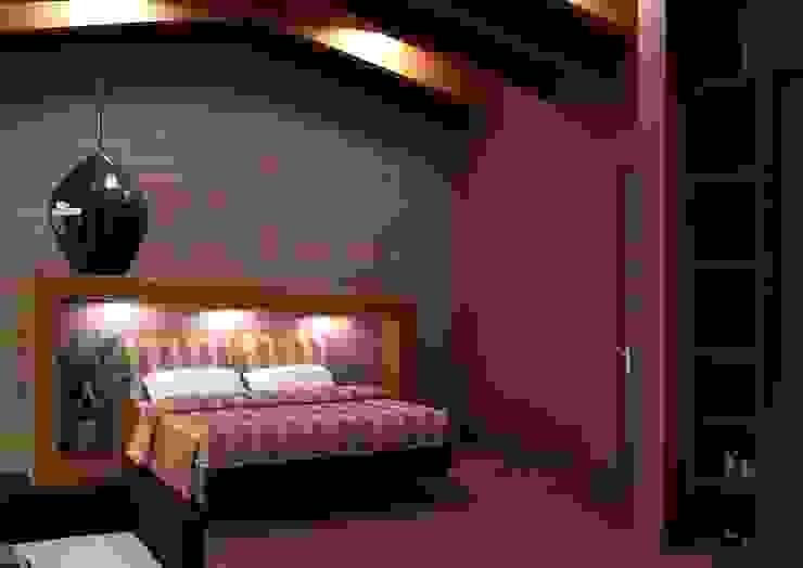 Modern style bedroom by Arq. Rodrigo Culebro Sánchez Modern