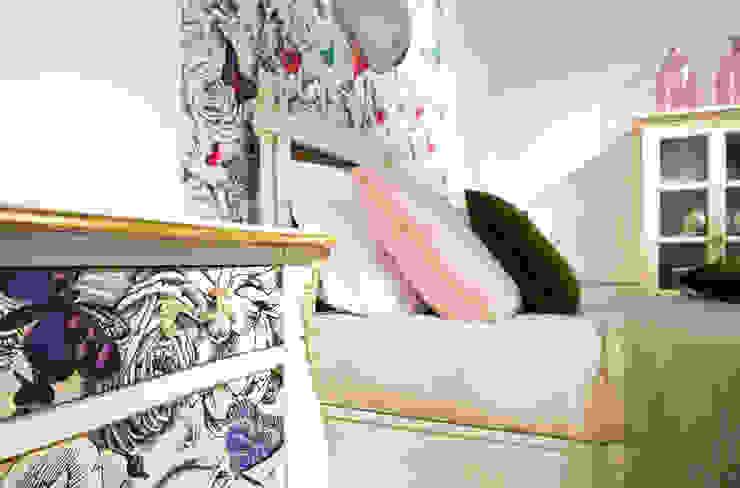 Grange México BedroomBeds & headboards Solid Wood Pink