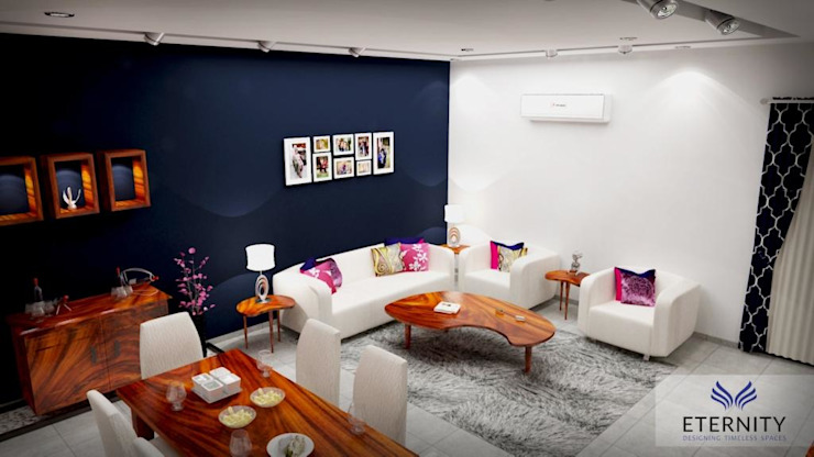 Interior design Modern living room by Eternity Designers Modern