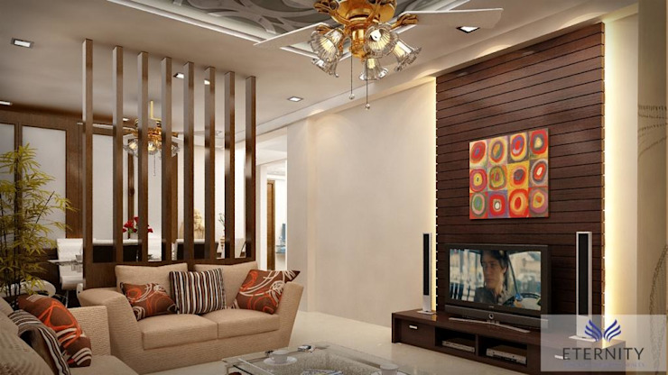 Interior design Modern living room by Eternity Designers Modern