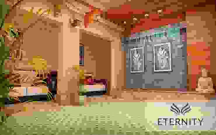 Interior design Modern corridor, hallway & stairs by Eternity Designers Modern