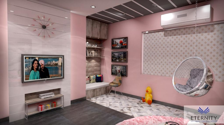Interior design Modern style bedroom by Eternity Designers Modern
