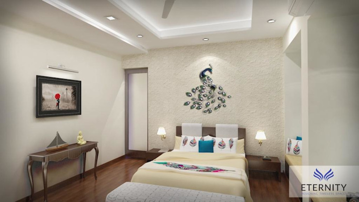 Interior design Eternity Designers Modern style bedroom