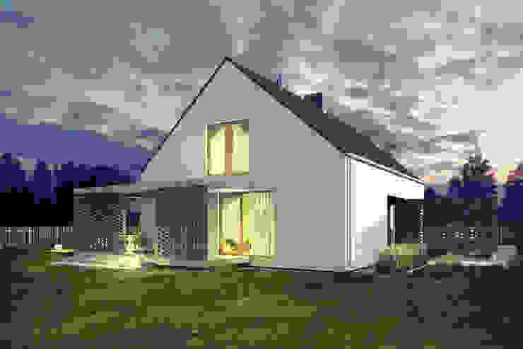 Projekty Modern houses by biuro40 Modern