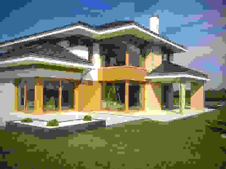 Dom z widokiem Modern houses by MG Projekt Projekty Domów Modern