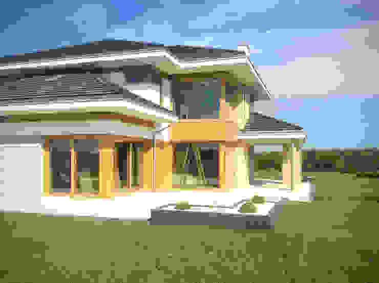 Dom z widokiem MG Projekt Projekty Domów Casas estilo moderno: ideas, arquitectura e imágenes