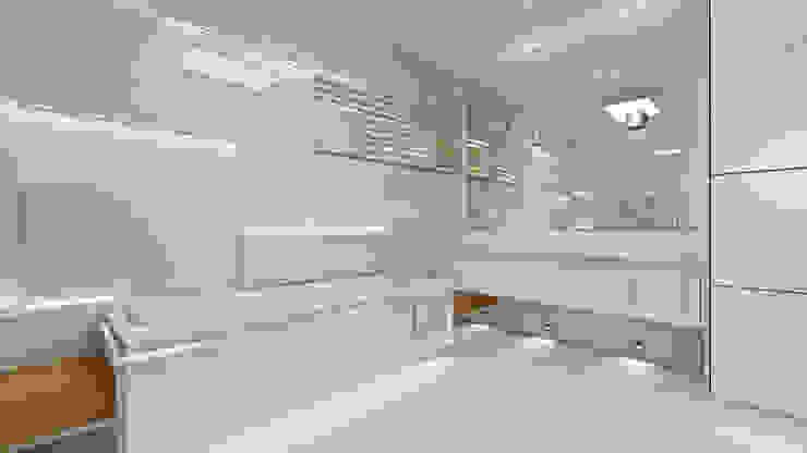 Baños de estilo  por MG Projekt Projekty Domów, Moderno