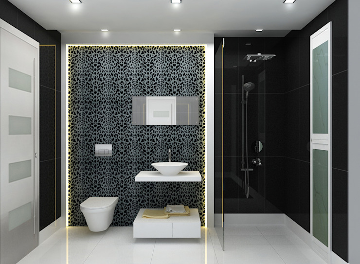 Interior Design:  Bathroom by The Silversea