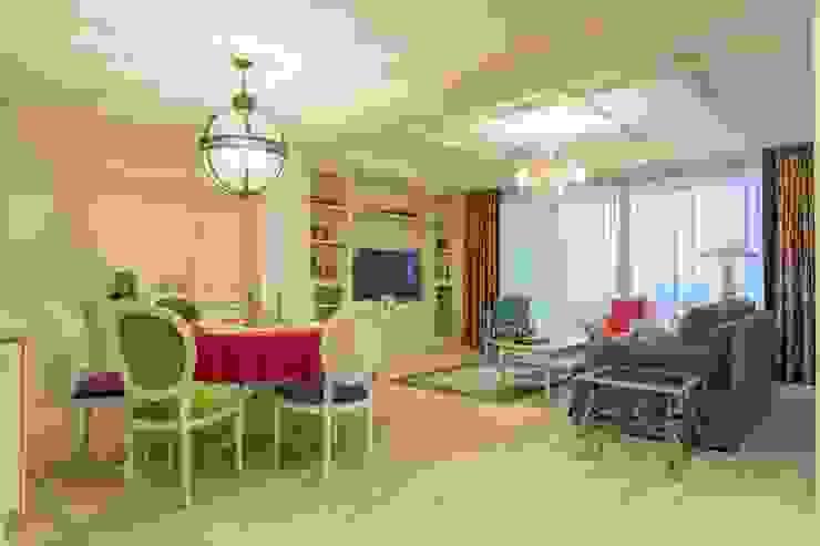 Bellarte interior studio Mediterranean style living room