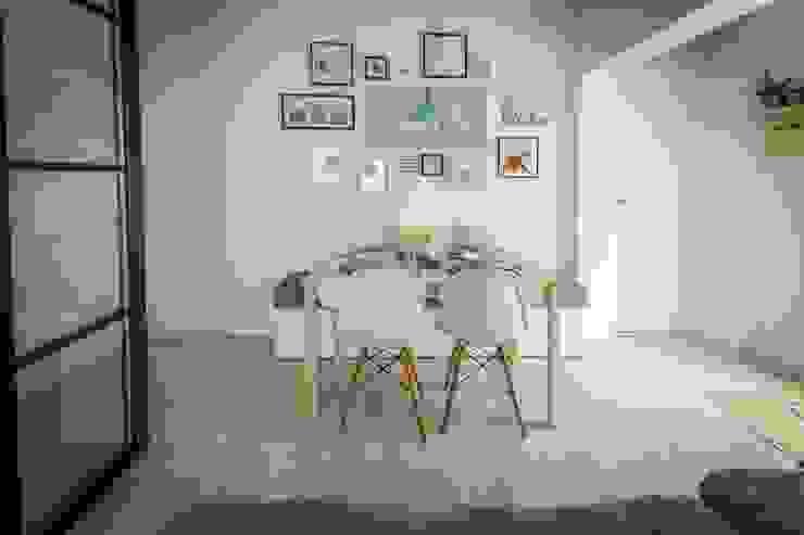 Столовая комната в скандинавском стиле от homify Скандинавский