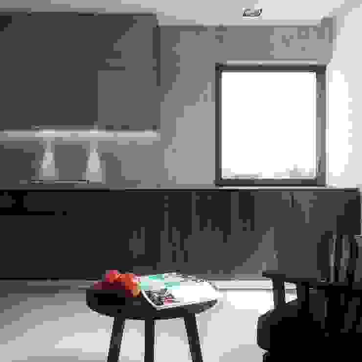BŚ Cutout Architects Nowoczesna kuchnia