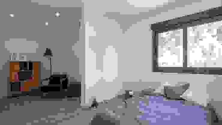 Schlafzimmer von Casas inHAUS, Minimalistisch
