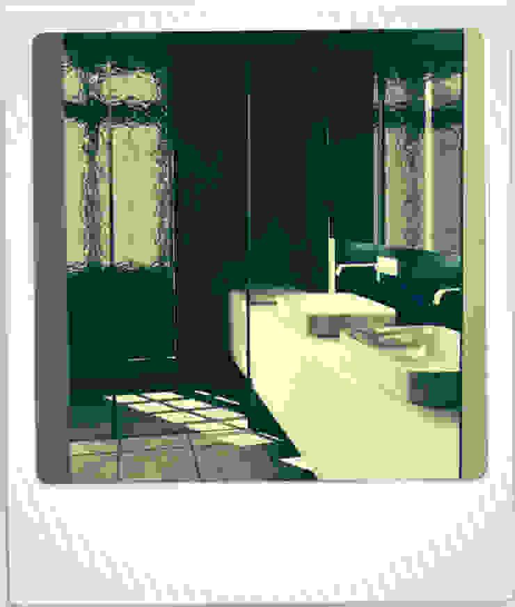 04HCM11 – REABILITAÇÃO RUA DE S.PEDRO Casas de banho modernas por sérgio rocha.arq Moderno