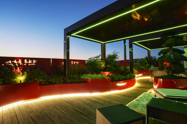 Jardines de estilo  de Tecnica Verde, Moderno