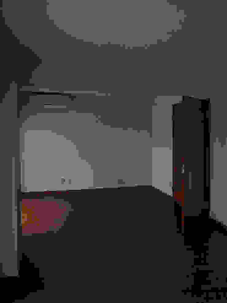 本城洋一建築設計事務所 Living room Wood Wood effect