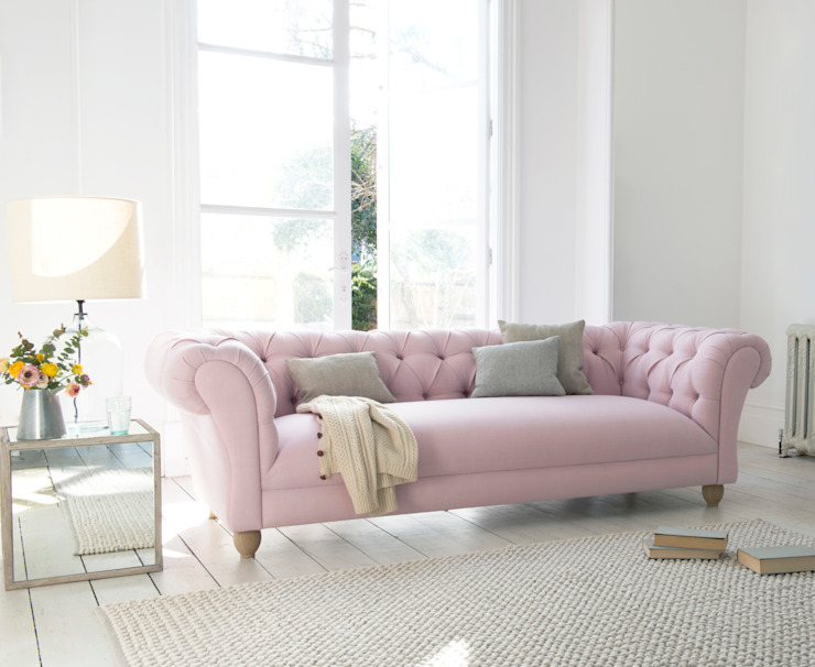 Young Bean sofa Loaf Living roomSofas & armchairs Cotton Pink