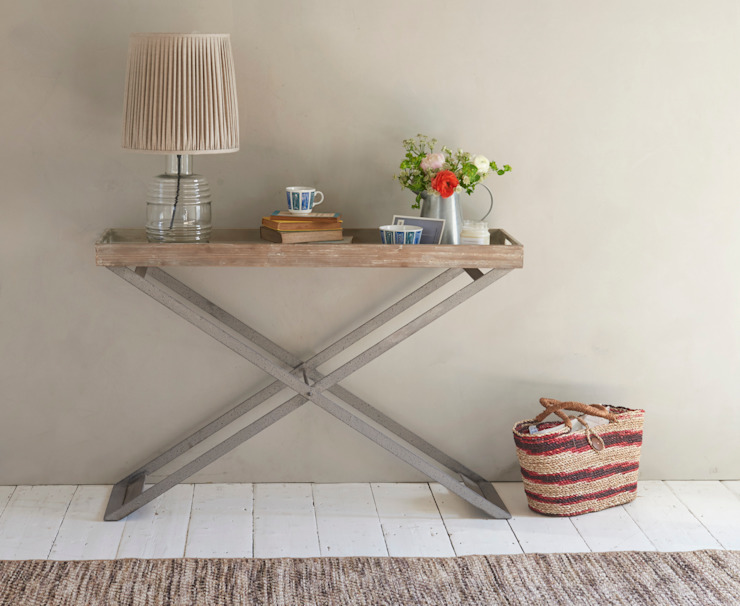 Tray away console table Loaf Living roomSide tables & trays Wood Wood effect