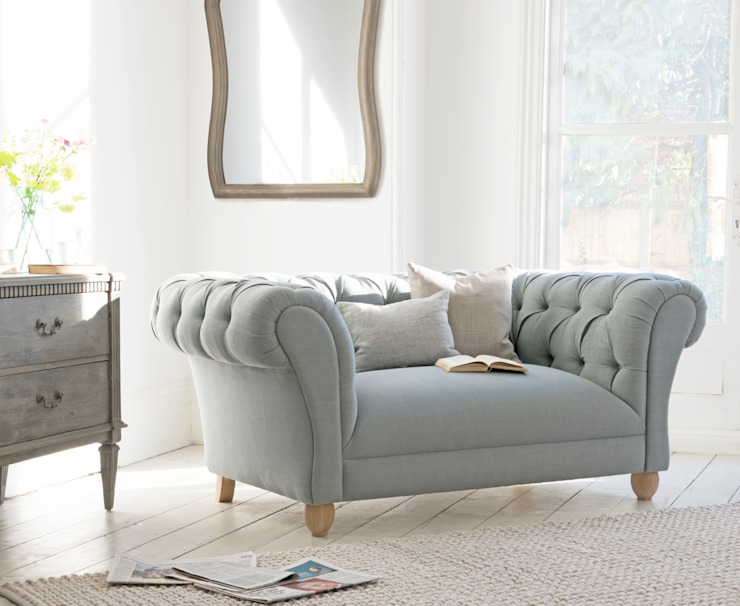 Young bean love seat Loaf Living roomSofas & armchairs Textile Grey