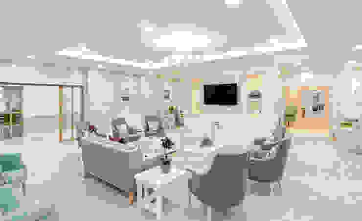 Communal Lounge من WN Interiors حداثي