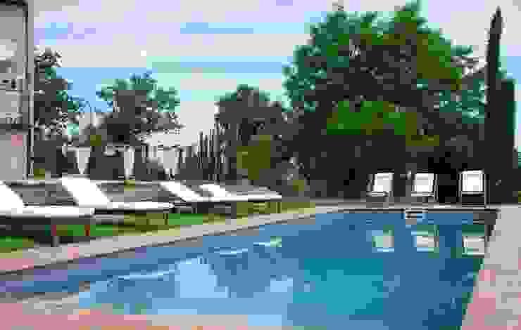 Giardini Giordani Mediterranean style pool